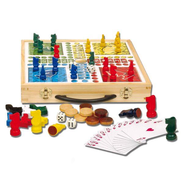 ZIG ZAG 100 giochi in legno ZIG ZAG Unisex 3-5 Anni, 5-7 Anni, 5-8 Anni, 8-12 Anni ALTRI