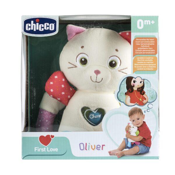 OLIVER PUPAZZO GATTINO - Chicco - Toys Center ALTRI Unisex 0-2 Anni Chicco