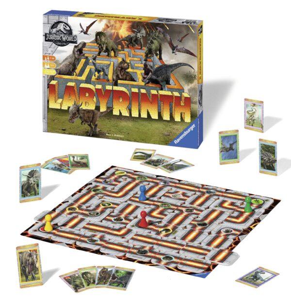 Labirinto Jurassic World - Gioco di società Ravensburger - BRIO Labirinto - BRIO games - BRIO - Linee JURASSIC WORLD Unisex 12+ Anni, 8-12 Anni LABIRINTO