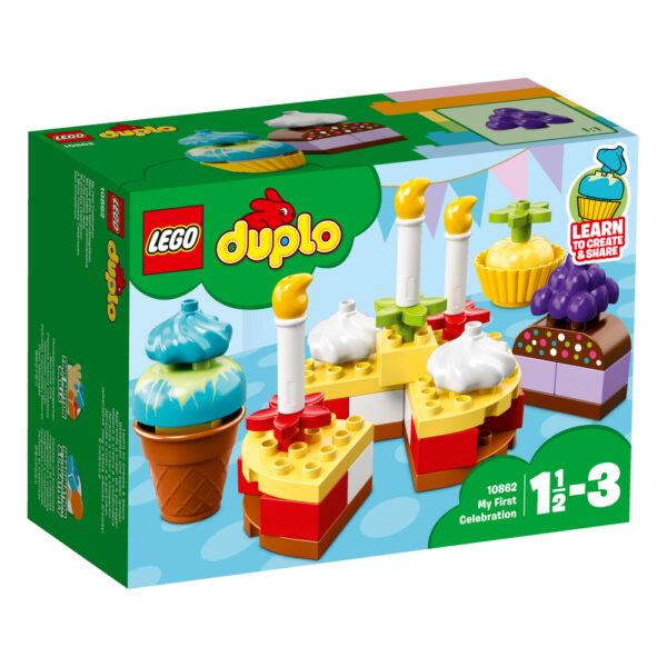 10862 - La mia prima festa - Lego Nuovi Arrivi - LEGO - Marche LEGO DUPLO Unisex 12-36 Mesi, 3-5 Anni ALTRI