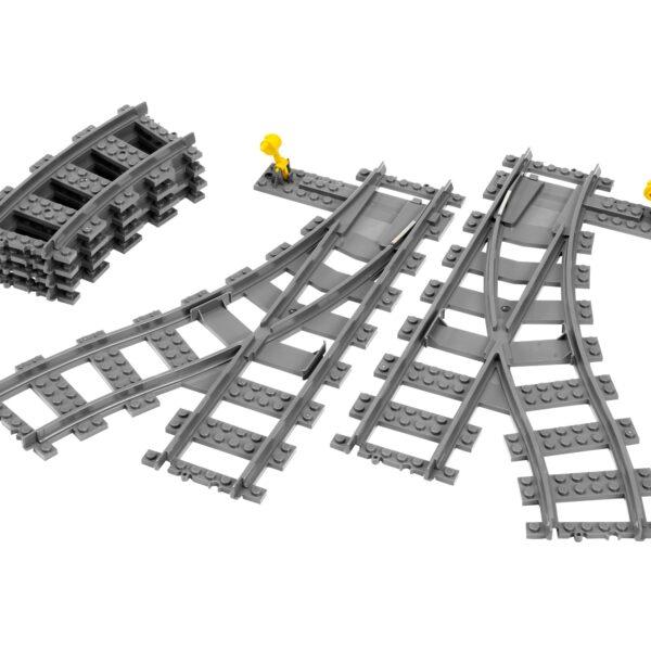 7895 - Scambi per la ferrovia - Lego Best Seller - LEGO - Marche ALTRI Unisex 3-5 Anni, 5-7 Anni, 5-8 Anni, 8-12 Anni LEGO CITY
