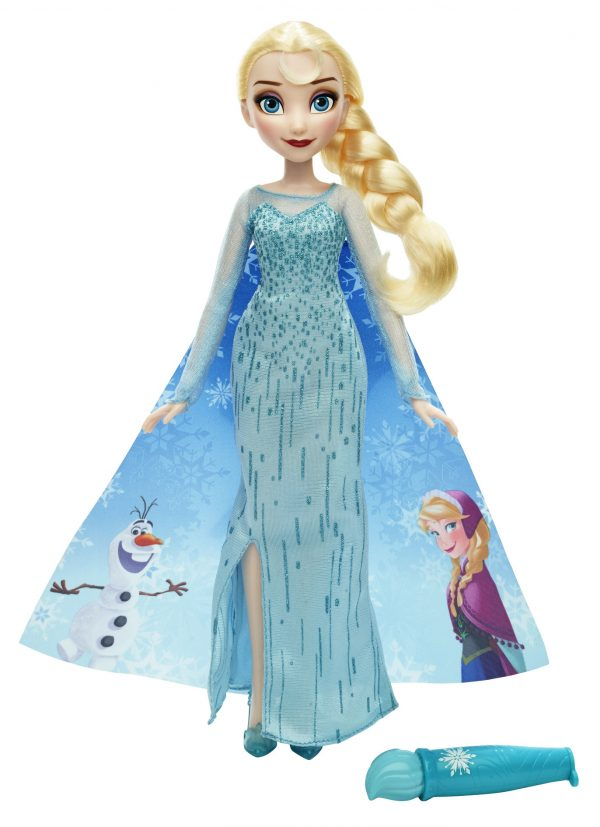 Elsa - Mantello Cambia Colore - Disney - Fashion dolls