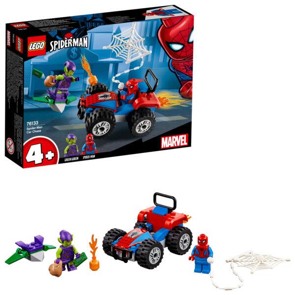 76133 - Inseguimento in auto di Spider-Man - Lego Super Heroes - Toys Center - LEGO SUPER HEROES - Costruzioni