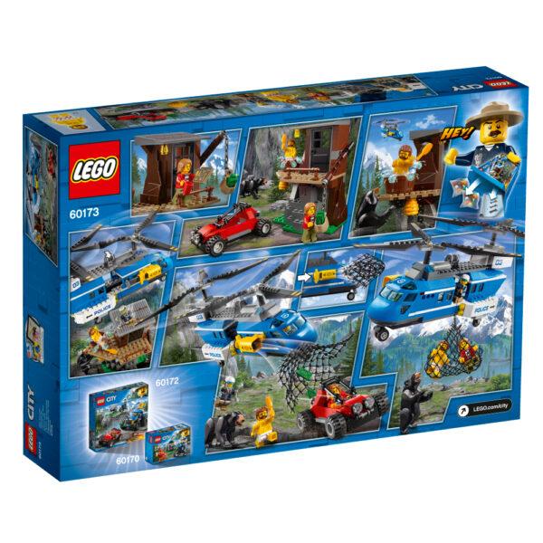 60173 - Arresto in montagna - Lego City - Toys Center - LEGO CITY - Costruzioni
