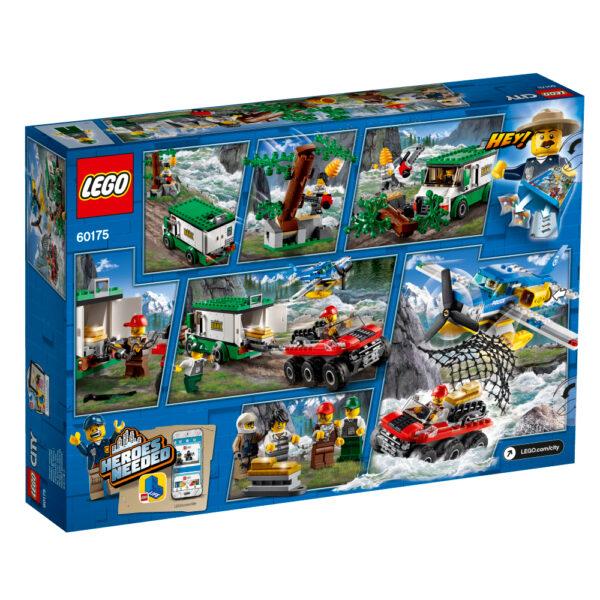 LEGO City - Rapina sul fiume - 60175 ALTRI Maschio 12+ Anni, 3-5 Anni, 5-8 Anni, 8-12 Anni LEGO CITY