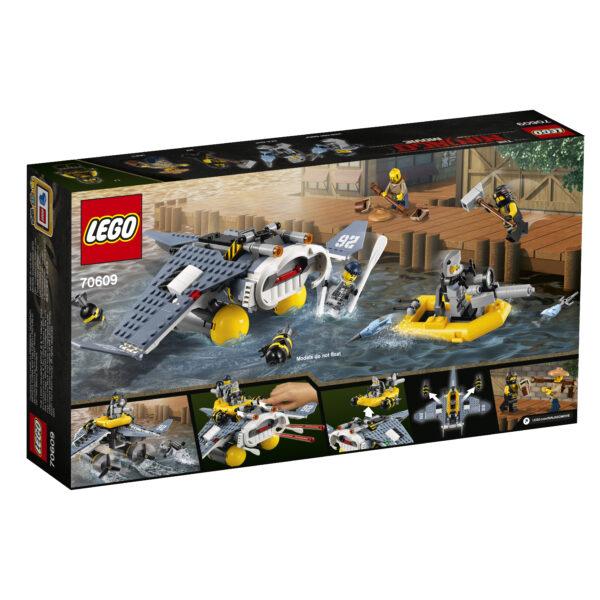 70609 - Bomber Manta Ray - Lego Ninjago - Toys Center ALTRI Maschio 12+ Anni, 5-8 Anni, 8-12 Anni LEGO NINJAGO