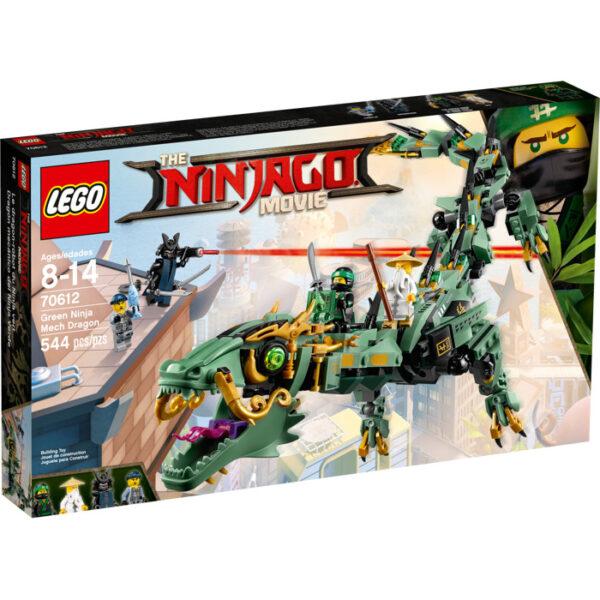 70612 - Drago Mech Ninja verde - Lego Ninjago - Toys Center - LEGO NINJAGO - Costruzioni