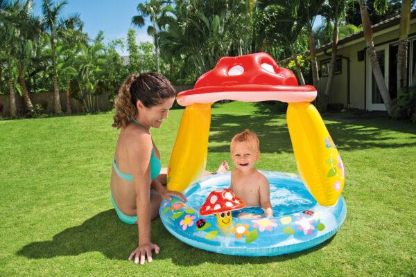 ALTRO ALTRI PISCINA BABY FUNGO CM 102X89 I.6 - Altro - Toys Center Unisex 12-36 Mesi, 3-5 Anni