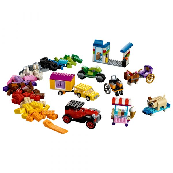 LEGO CLASSIC ALTRI 10715 - Mattoncini su ruote - Lego Classic - Toys Center Unisex 12+ Anni, 3-5 Anni, 5-8 Anni, 8-12 Anni