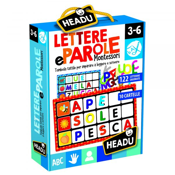Lettere e Parole Montessori ALTRO Unisex 12-36 Mesi, 3-5 Anni, 5-8 Anni ALTRI