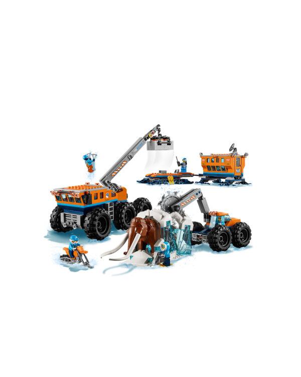 60195 - Base mobile di esplorazione artica ALTRI Unisex 12+ Anni, 5-8 Anni, 8-12 Anni LEGO CITY