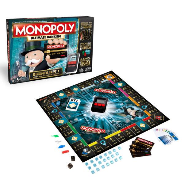 Monopoly Banking - Hasbro Gaming - Toys Center HASBRO GAMING Unisex 12+ Anni, 5-8 Anni, 8-12 Anni ALTRI