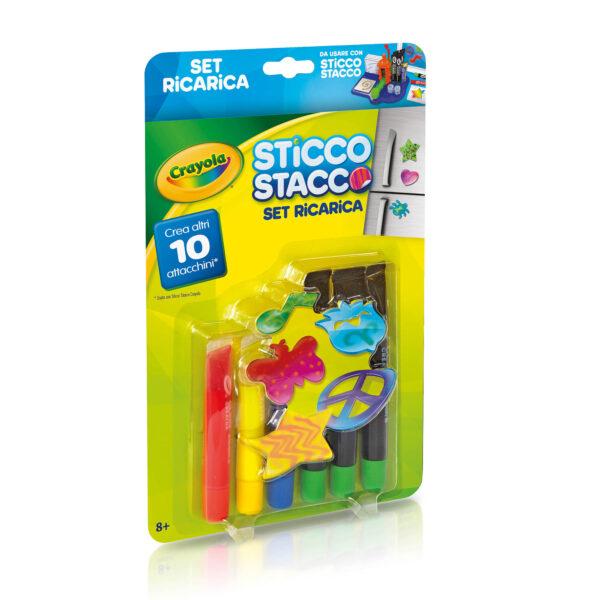 Set Ricarica Sticco Stacco Crayola ALTRO Unisex 12+ Anni, 5-8 Anni, 8-12 Anni ALTRI