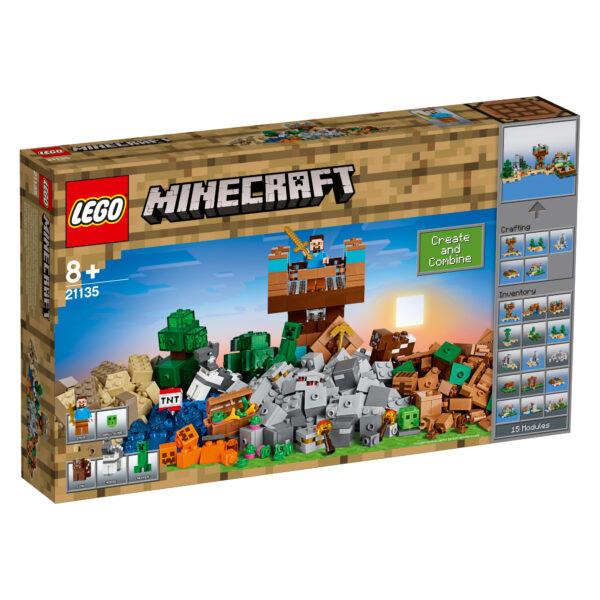 21135 - Crafting Box 2.0 - Minecraft - Toys Center MINECRAFT Maschio 12+ Anni, 5-8 Anni, 8-12 Anni ALTRI