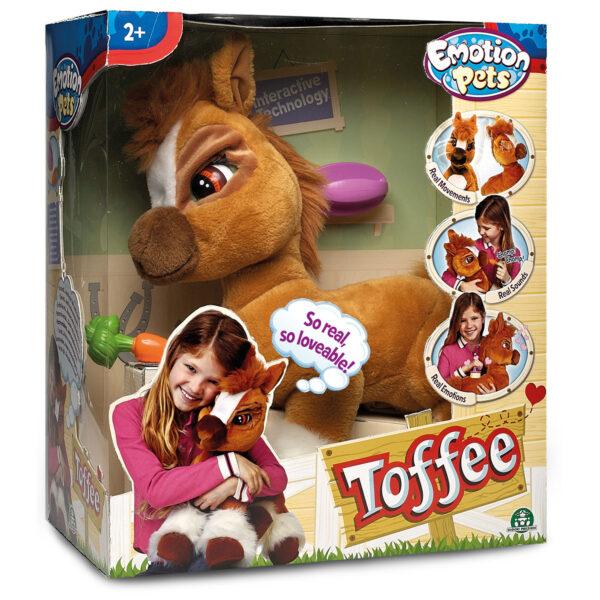 EMOTION PETS ALTRI Giochi Preziosi - Emotion Pets, Tofee il pony Femmina 12-36 Mesi, 3-4 Anni, 3-5 Anni, 5-7 Anni, 5-8 Anni