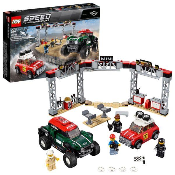 75894 - 1967 Mini Cooper S Rally e 2018 MINI John Cooper Works Buggy - LEGO SPEED CHAMPIONS - Costruzioni