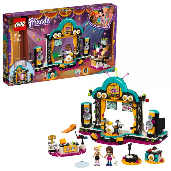 LEGO Friends - Il Talent Show di Andrea  - 41368 LEGO FRIENDS Unisex 12+ Anni, 5-8 Anni, 8-12 Anni ALTRI