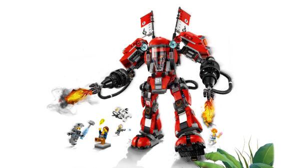 LEGO NINJAGO ALTRI 70615 - Mech di Fuoco Maschio 12+ Anni, 8-12 Anni