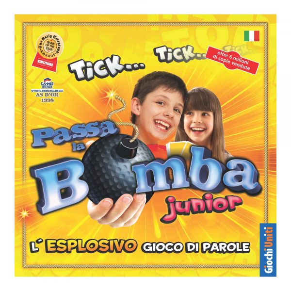 PASSA LA BOMBA JUNIOR reprint - Altro - Toys Center ALTRO Unisex 3-5 Anni, 5-7 Anni, 5-8 Anni, 8-12 Anni ALTRI