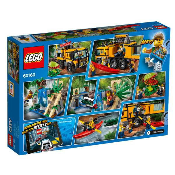 LEGO 60160 - Laboratorio mobile nella giungla - Lego City - Toys Center JURASSIC WORLD Maschio 12+ Anni, 5-8 Anni, 8-12 Anni LEGO CITY