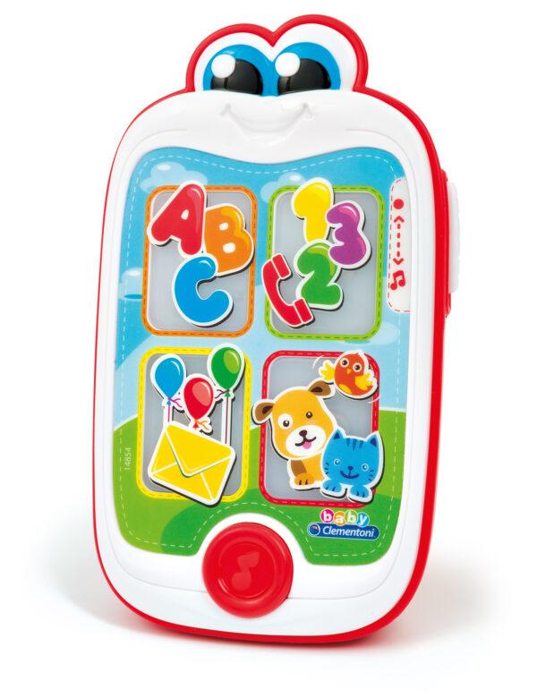 CLEMENTONI - 14854 - Baby Smartphone BABY CLEMENTONI Unisex 0-12 Mesi, 12-36 Mesi, 3-5 Anni ALTRI
