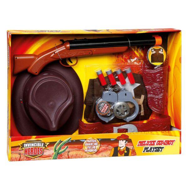 INVINCIBLE HEROES PLAYSET COWBOY DELUXE - Invincible Heroes - Toys Center - INVINCIBLE HEROES - Giochi di emulazione