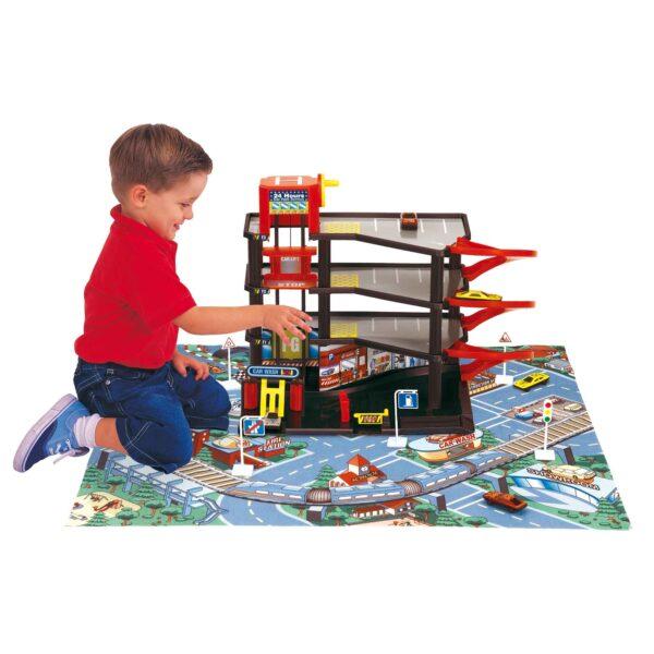 MOTOR&CO GARAGE 4 PIANI CON TAPPETO - Giocattoli Toys Center MOTOR&CO Maschio 12-36 Mesi, 3-4 Anni, 3-5 Anni, 5-7 Anni, 5-8 Anni, 8-12 Anni ALTRI