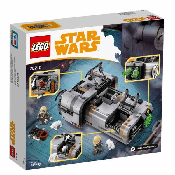 75210 - Il Landspeeder™ di Moloch - Disney - Toys Center Star Wars Unisex 12+ Anni, 5-8 Anni, 8-12 Anni Disney