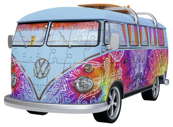 Camper Volkswagen Indian Summer - Puzzle 3D Veicoli Ravensburger 12527 ALTRI Unisex 12+ Anni, 8-12 Anni RAVENSBURGER PUZZLE 3D