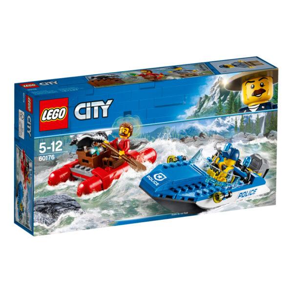 60176 - Fuga sul fiume - Lego City - Toys Center LEGO CITY Maschio 12+ Anni, 3-5 Anni, 5-8 Anni, 8-12 Anni ALTRI