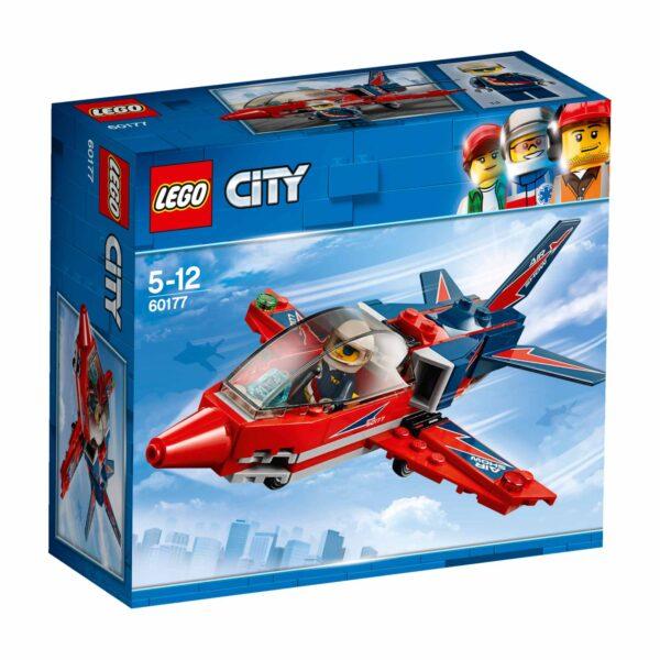 60177 - Jet acrobatico LEGO CITY Maschio 12+ Anni, 3-5 Anni, 5-8 Anni, 8-12 Anni ALTRI