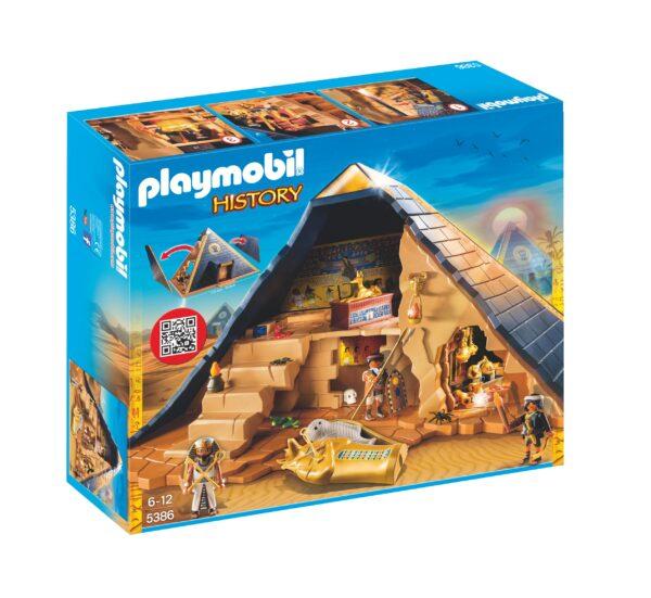 Grande piramide del faraone PLAYMOBIL - HISTORY Maschio 3-4 Anni, 3-5 Anni, 5-7 Anni, 5-8 Anni, 8-12 Anni ALTRI