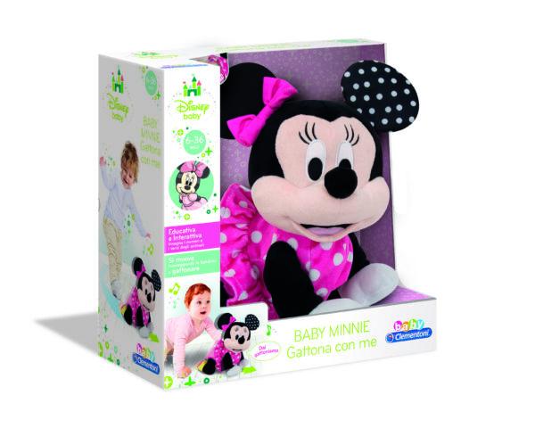 BABY MINNIE GATTONA CON ME - DISNEY - DISNEY - Marche Disney Unisex 0-12 Mesi, 12-36 Mesi, 3-5 Anni TOPOLINO&CO.