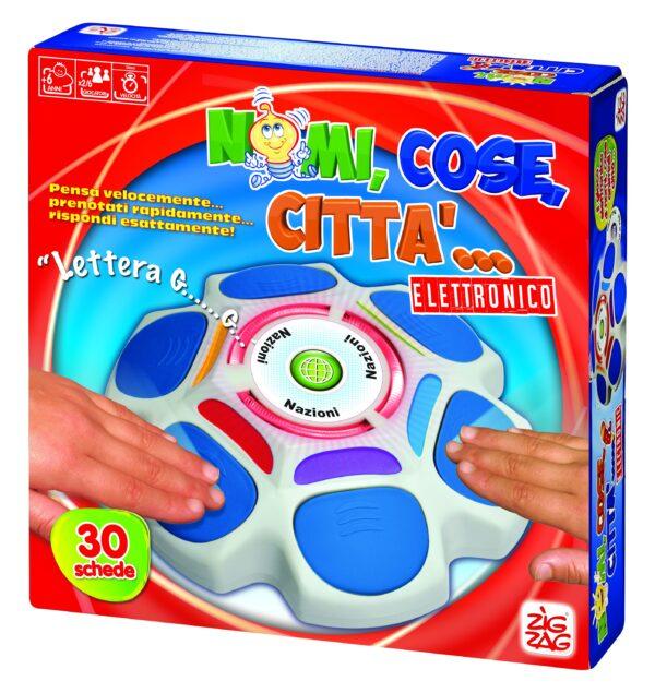 NOMI COSE CITTA' ELETTRONICO - Zig Zag - Toys Center - ZIG ZAG - Fino al -30%