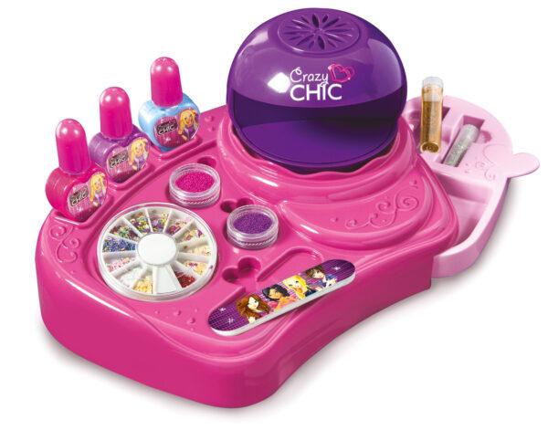 CLEMENTONI - 15770 - Crazy Chic Atelier delle Unghie - Giocattoli Toys Center - CRAZY CHIC - Giochi educativi, musicali e scientifici