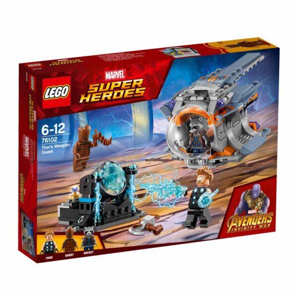 76102 - La ricerca dell'arma suprema di Thor - Best Seller Disney - DISNEY - Marche - Marvel - Costruzioni