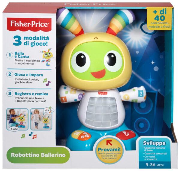 Robottino ballerino - Fisher-price - Toys Center ALTRI Unisex 0-12 Mesi, 12-36 Mesi, 3-5 Anni FISHER-PRICE