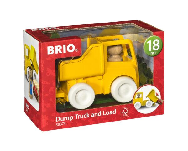 BRIO camion con cassone ribaltabile e carico BRIO Unisex 0-2 Anni, 12-36 Mesi, 3-4 Anni, 3-5 Anni ALTRI
