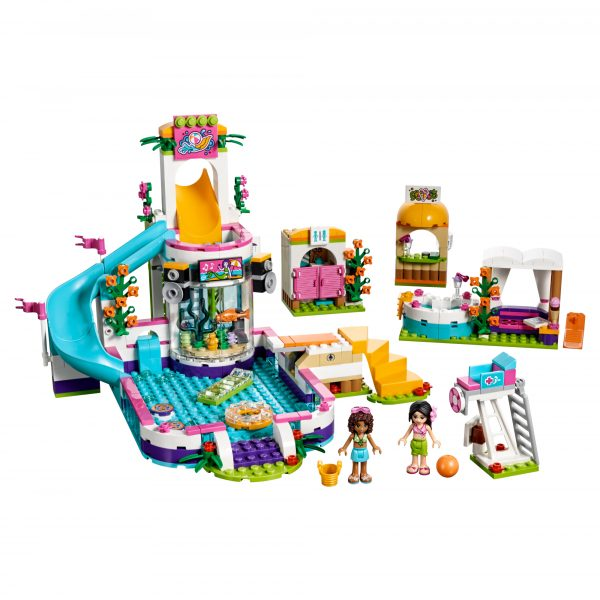 41313 - La piscina all'aperto di Heartlake - Lego Friends - Toys Center - LEGO FRIENDS - Costruzioni