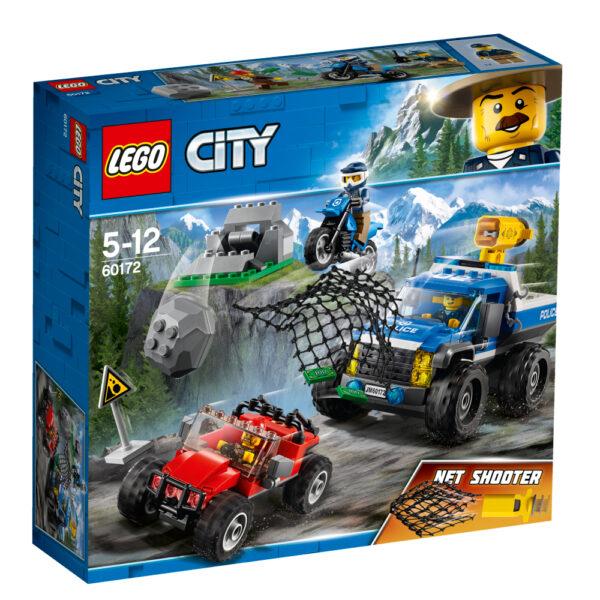 LEGO City  - Duello fuori strada -60172 LEGO CITY Maschio 12+ Anni, 3-5 Anni, 5-8 Anni, 8-12 Anni ALTRI