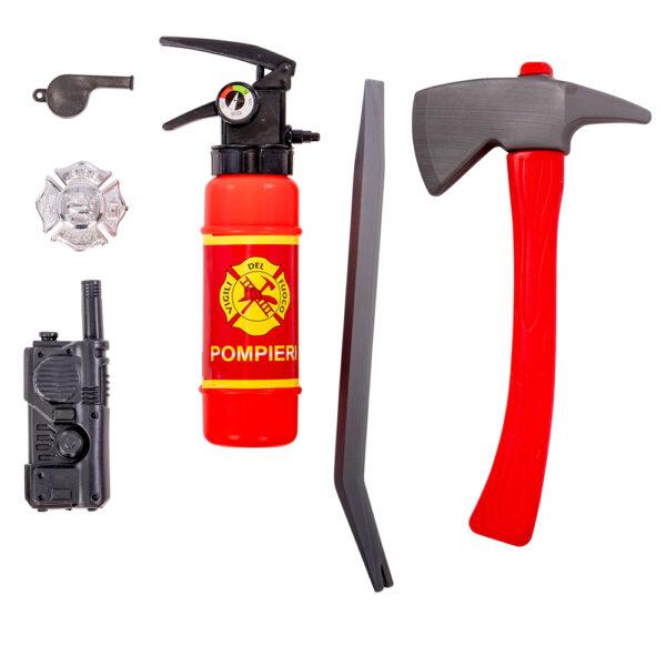 Set pompiere ALTRO Unisex 12-36 Mesi, 12+ Anni, 3-5 Anni, 5-8 Anni, 8-12 Anni ALTRI