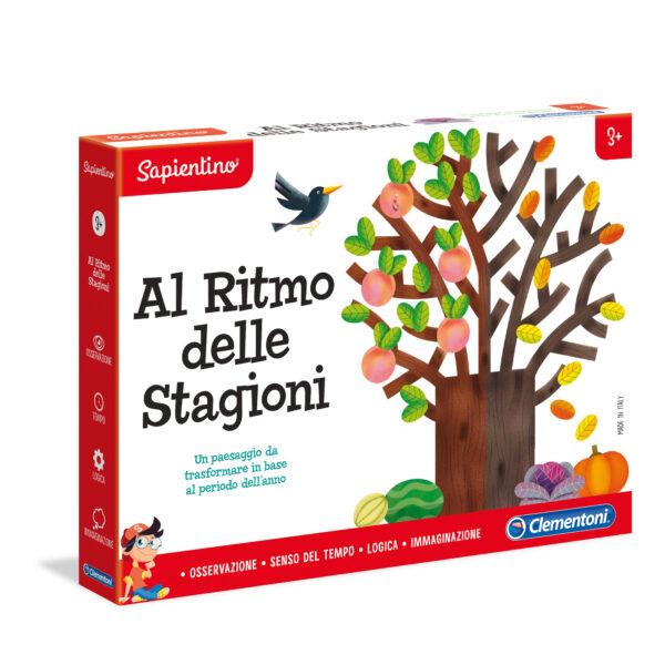 AL RITMO DELLE STAGIONI - Sapientino - Toys Center SAPIENTINO Unisex 12-36 Mesi, 3-5 Anni, 5-8 Anni ALTRI