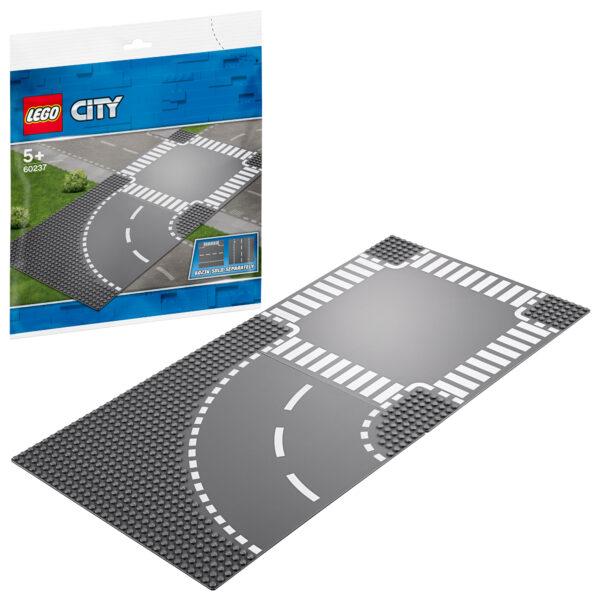 LEGO City Curva e incrocio - 60237 LEGO CITY Unisex 12+ Anni, 3-5 Anni, 5-8 Anni, 8-12 Anni ALTRI