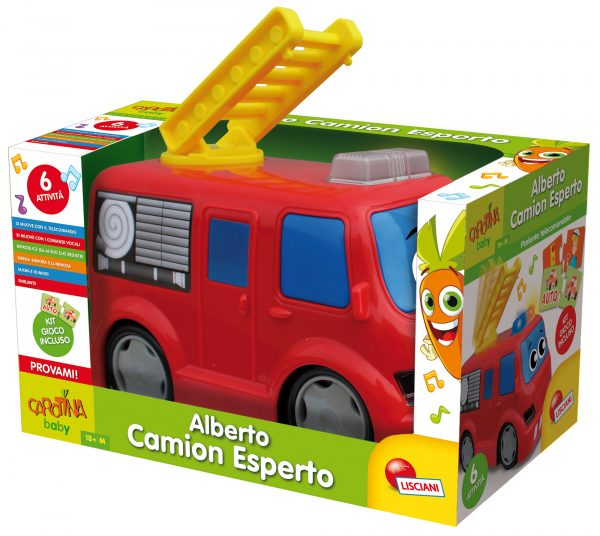 Carotina Alberto Camion Esperto - Carotina - Toys Center CAROTINA Unisex 12-36 Mesi, 3-5 Anni ALTRI