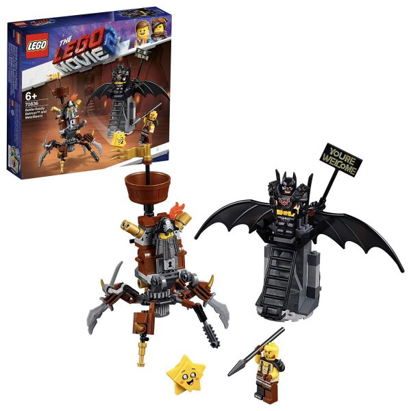 70836 - Batman™ pronto alla battaglia e Barbacciaio - The LEGO Movie 2 - LEGO - Marche ALTRO Unisex 12+ Anni, 5-8 Anni, 8-12 Anni THE LEGO MOVIE 2