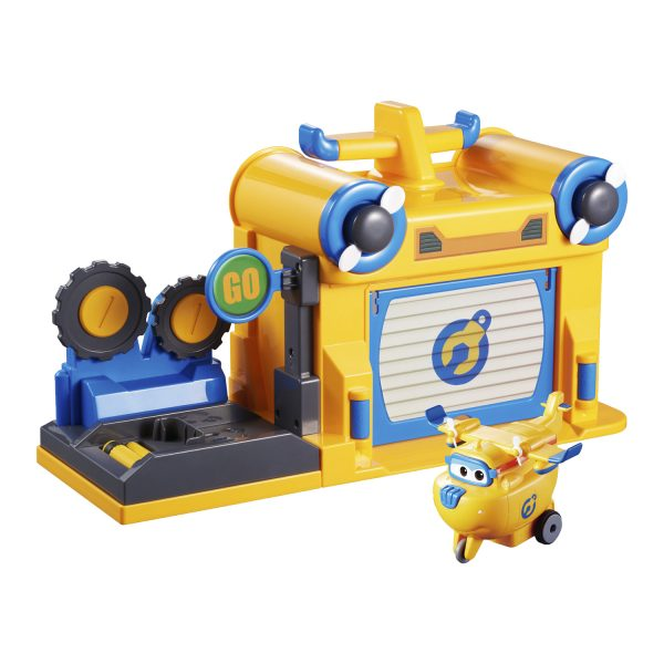 L'officina di Donnie - Super Wings - ALTRO - Action figures