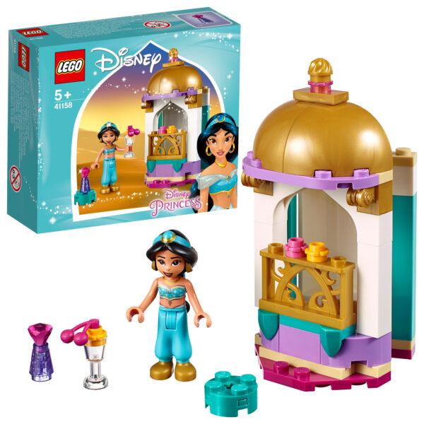 41158 - La piccola torre di Jasmine - Disney Princess - Toys Center - DISNEY PRINCESS - Costruzioni