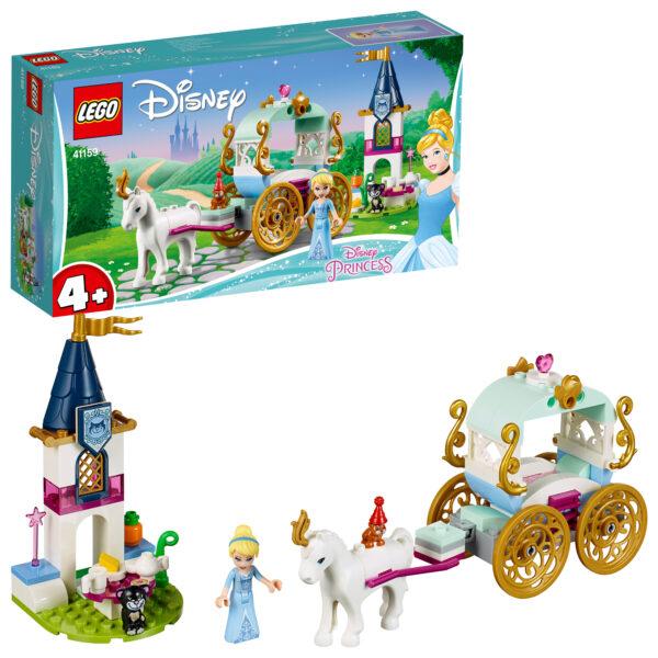 41159 - Il giro in carrozza di Cenerentola - Disney Princess - Toys Center DISNEY PRINCESS Unisex 12+ Anni, 3-5 Anni, 5-8 Anni, 8-12 Anni PRINCIPESSE DISNEY