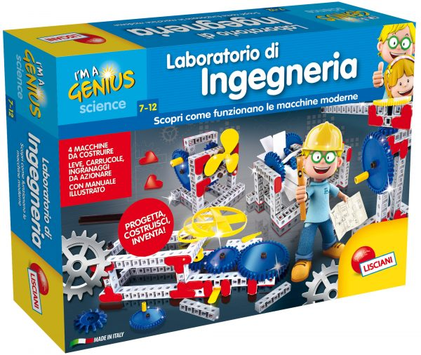 I'm a genius laboratorio di ingegneria - I'M A GENIUS - Giochi educativi, musicali e scientifici