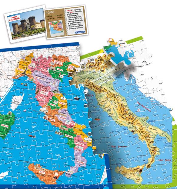 SCOPRIAMO L'ITALIA - CLEMENTONI - GIOCHI DA TAVOLO - Linee ALTRI Maschio 12+ Anni, 8-12 Anni CLEMENTONI - GIOCHI DA TAVOLO